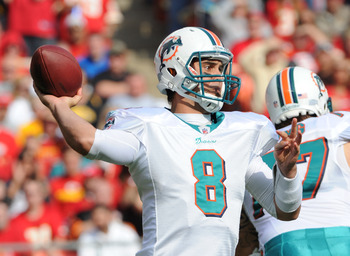 Matt Moore: Led Miami to a 6-3 finish.