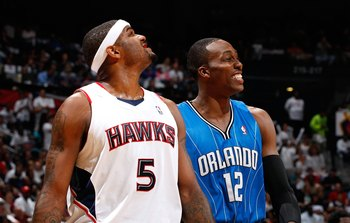 Josh Smith and Dwight Howard