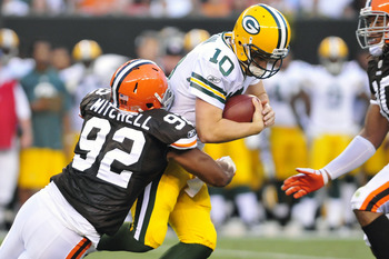 Jayme Mitchell had his moments, but the Browns should shop at DE.