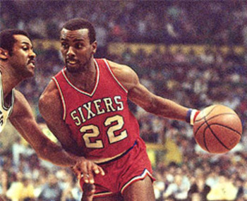 Andrew Toney was an aggressive scorer in the 1980's.