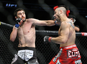 Condit (left)/ Lee Whitehead for MMAWeekly.com