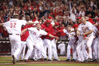 The Reds won the Central in 2010 and they'll do it again in 2012
