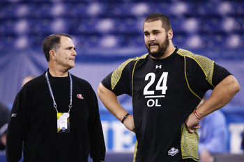 Matt Kalil strongly impressed at the 2012 NFL Scouting Combine