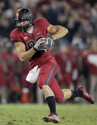 Stanford's Coby Fleener could actually be a mid-first round selection in this April's Draft.