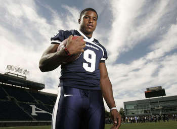 Utah State linebacker Bobby Wagner has been climbing up the boards lately and could make it to the first round.