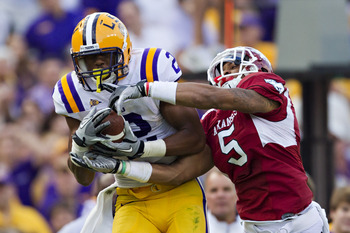 LSU junior Rueben Randle could find himself in the first round by the time all is said and done.