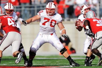 Kevin Zeitler may have raised his stock enough at the Indianapolis Combine to be selected in the first round.