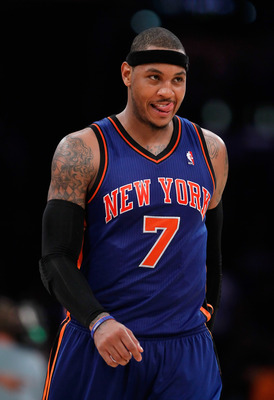 'Melo and the Knicks have made moves but they're still not contenders.
