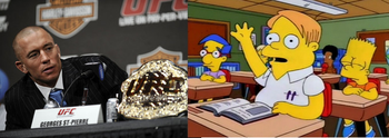 Simpson characters and their MMA counterparts