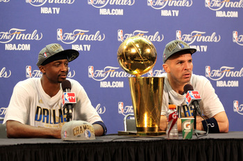 Jason Terry and Jason Kidd helped guide the Mavs to a championship, but their tenure in Dallas is likely over after 2012.