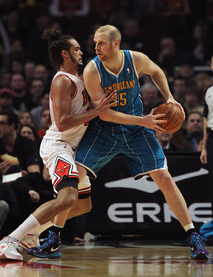 Chris Kaman is a solid upgrade over Brendan Haywood.