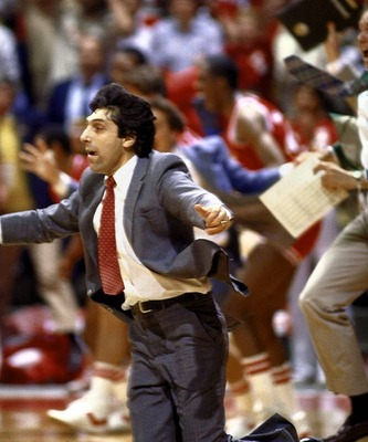 Jimmy V in an iconic March moment.