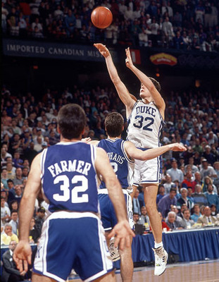 Laettner's picture perfect turnaround jumper.