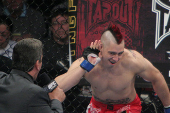 Dan Hardy/ Jeff Cain for MMAWeekly.com
