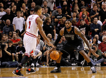 The Heat are the main obstacle between the Bulls and a championship