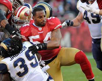 Grant shone as a backup and in part-time starting duty when Patrick Willis was hurt.