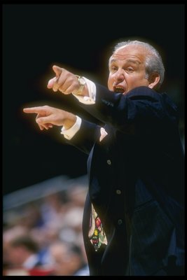 Massimino was intense but knew how to settle his players.