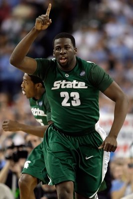 Green became the Spartans' leader at the end of his freshman season.