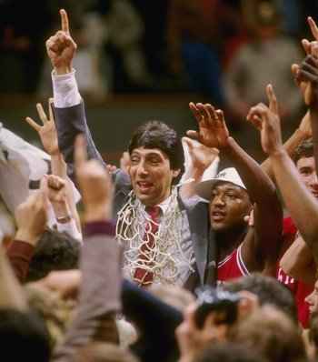 Not many basketball coaches were as inspirational as Valvano.