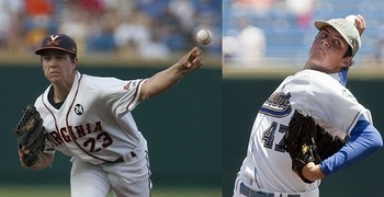 Hultzen-Bauer pits the top two performing college pitchers from 2011 against each other.
