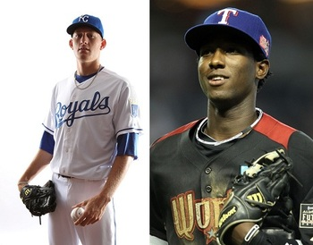 Profar's toughest test comes in the semis against Kansas City lefty Mike Montgomery.