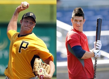 In Harper-Cole, the two most recent number one draft picks square off. Can Harper catch up to Cole's 100-mph heat?