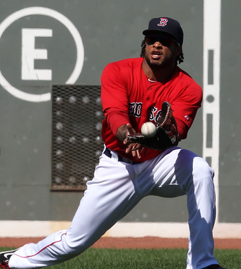 Darnell McDonald is hoping to catch-on with the 2012 Red Sox.