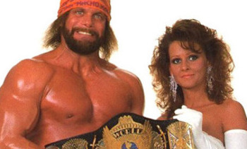 Randy Savage and Miss Elizabeth (photo from bleacher report.com)