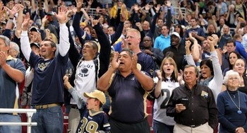 St. Louis Rams Fans- Edward Jones Dome