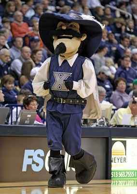 The Xavier Musketeer would be right at home in the French Quarter.
