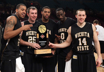 Last year the Shockers held the NIT Championship trophy.  This year their sights are set higher.