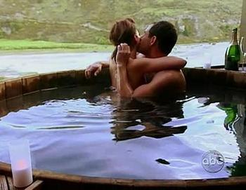 Sorry, no icky hot tub moments until marriage.