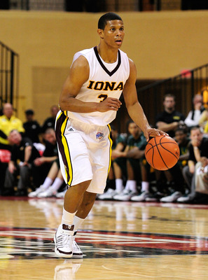 Iona PG Scott Machado runs the nation's most potent scoring attack.