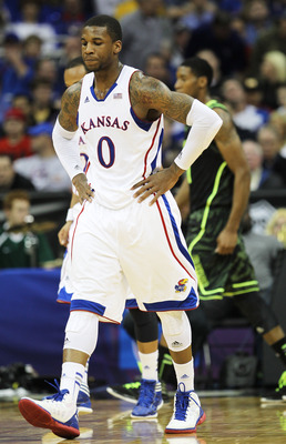Thomas Robinson looks to lead the Jayhawks over Detroit in their first-round matchup.
