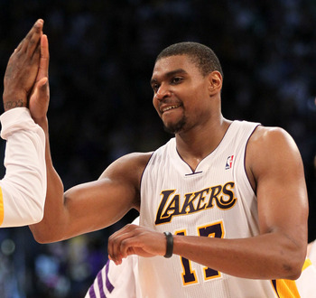 He may or may not stay healthy but the play of Andrew Bynum makes a trade for Howard unlikely.