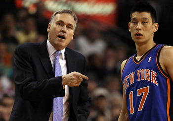 Jeremy Lin might not be enough to save Mike D'Antoni in New York.