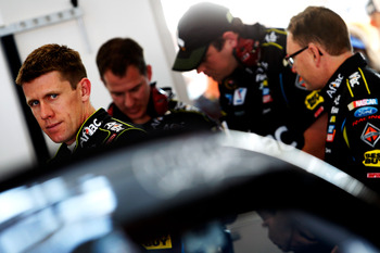 Carl Edwards' late move on Matt Kenseth was not that of a good teammate