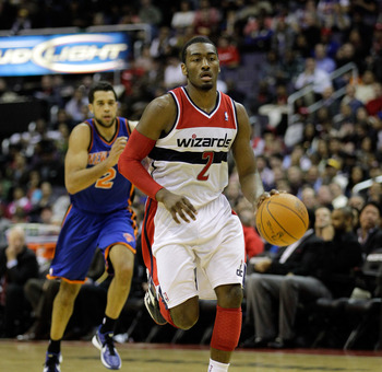 John Wall hopes to lead the Wizards in their rebuilding efforts.