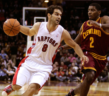 Jose Calderon is having a great season in Toronto.