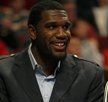 Greg Oden has spent most of his career wearing nice suits while rehabilitating from injuries.