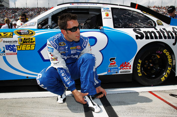Aric Almirola has been surprisingly good on restarts in 2012