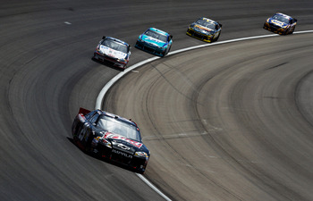 Kevin Harvick is fast all the time, but especially on restarts