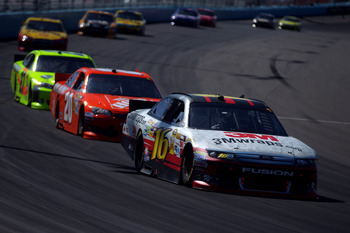 3 seems to be Greg Biffle's lucky number so far in 2012; he ranks 3rd in restarts this season