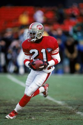 Deion Sanders played only one season in San Francisco