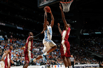 Harrison Barnes and the North Carolina Tar Heels take on the winner of the Lamar and Vermont play-in game in what will amount to a great time to take a dinner break.