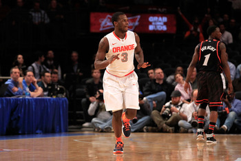 Dion Waiters and the rest of the deep, talented Syracuse Orange should coast through round one.