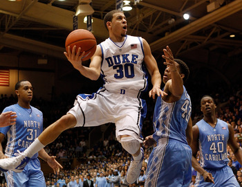 Seth Curry and Duke face a fast-paced, high-scoring affair against the Lehigh Mountainhawks.