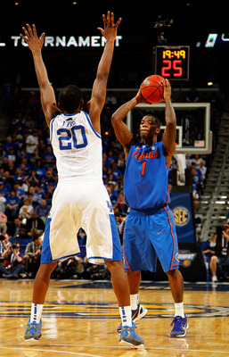 Kenny Boynton and Florida are in for a tough matchup when they take on Virginia in round one.