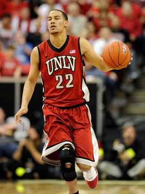 Chace Stanback and the UNLV Runnin' Rebels will try to put a stop to Colorado's march through the month of March.