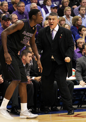 Frank Martin hopes to guide his Kansas State squad to a win over Southern Mississippi.